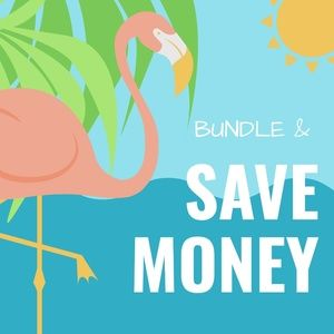 Bundles save on SHIPPING!